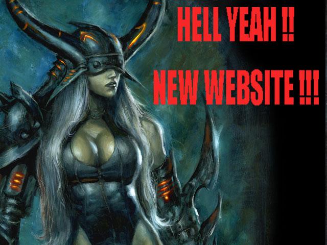 NEW WEBSITE !!