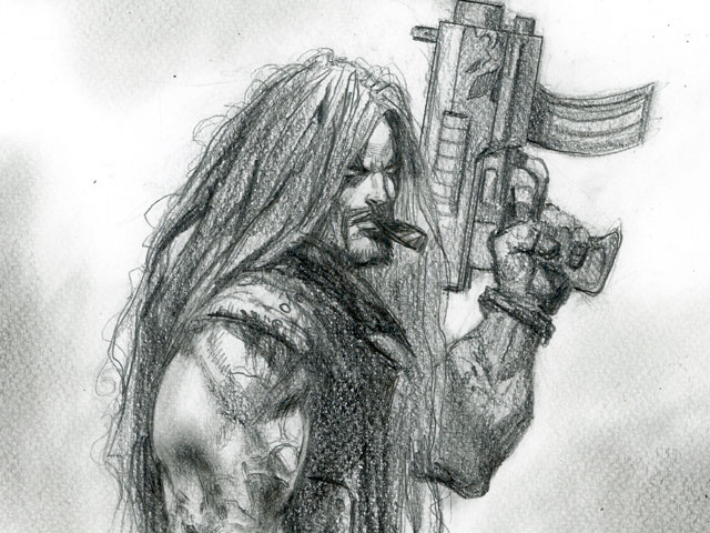 Lobo/Death Dealer Pencils
