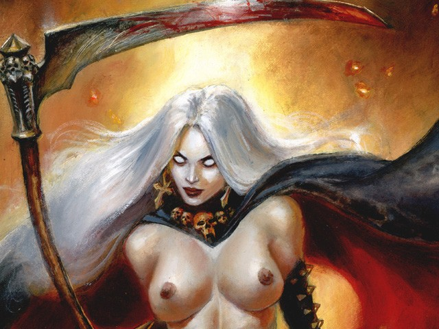 Lady Death (Commission Painting)