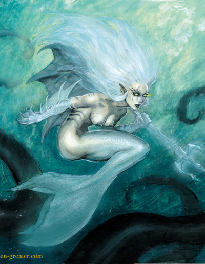 Sirene (Couverture artbook soleil)