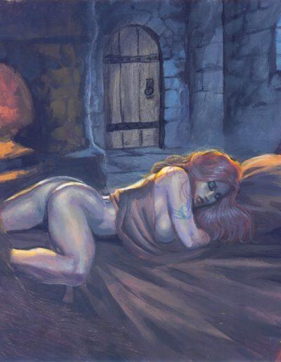 Naked Deirdre