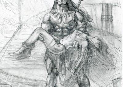Conan-crayonné