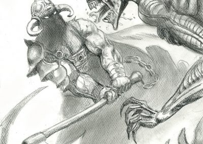 Death-Dealer-VS-Alien