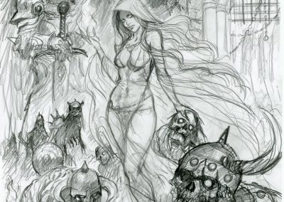 Deirdre-Zombie-Queen-pencil