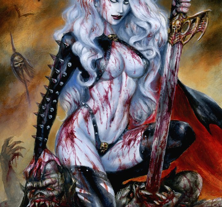 Lady Death «If you want blood (you've got it)»