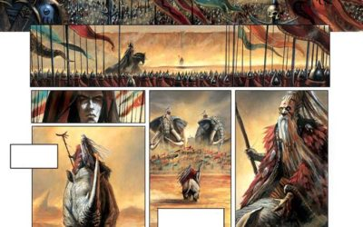 La Cathedrale des Abymes Tome 3 preview