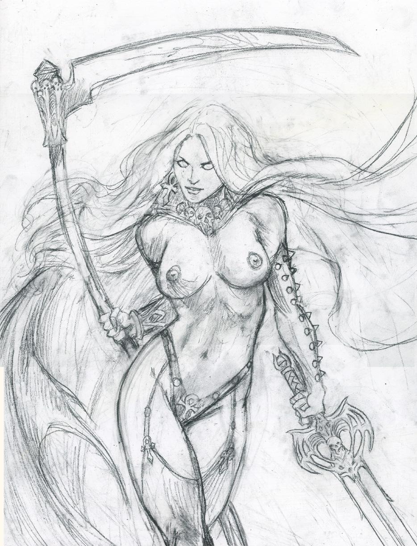 Lady-death-pencil