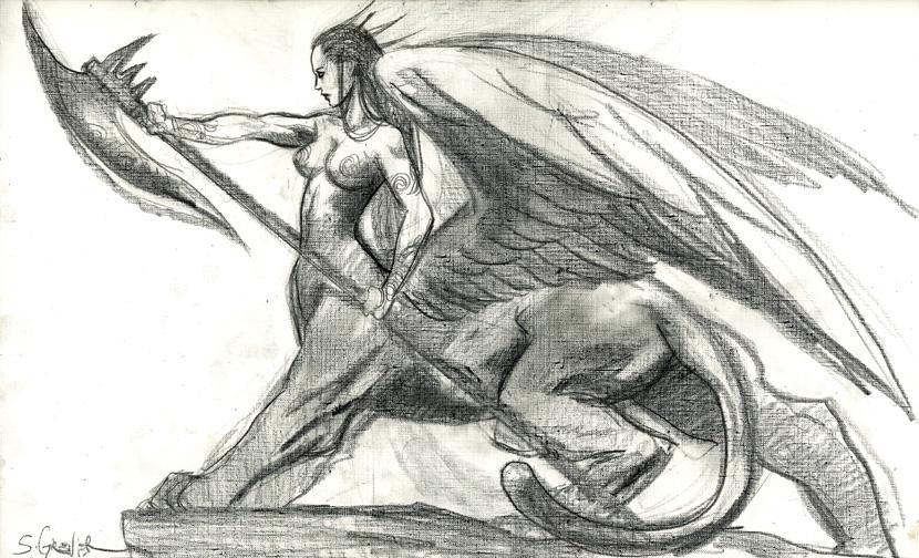 sphinx-guardienne