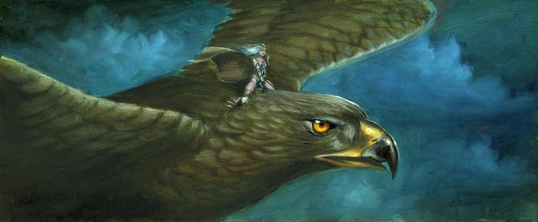 Siamh on giant eagle