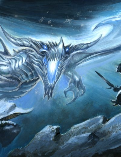 Ice-dragon