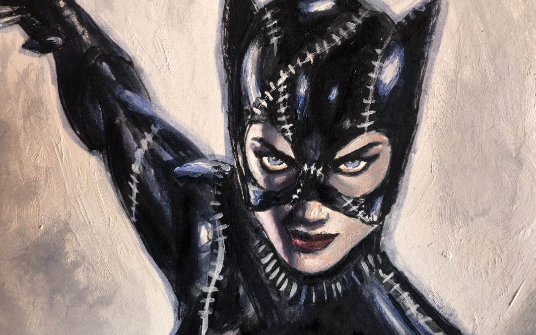 CATWOMAN (Commission painting)