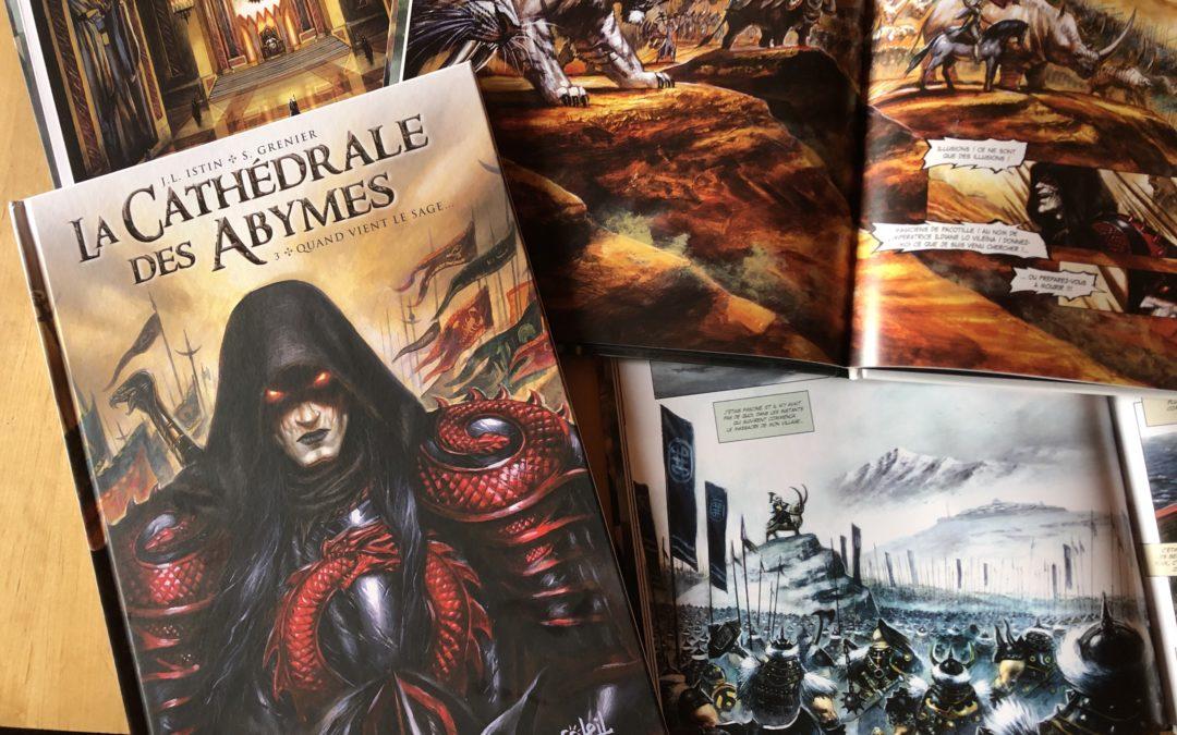 La Cathédrale des Abymes Tome 3 !!!