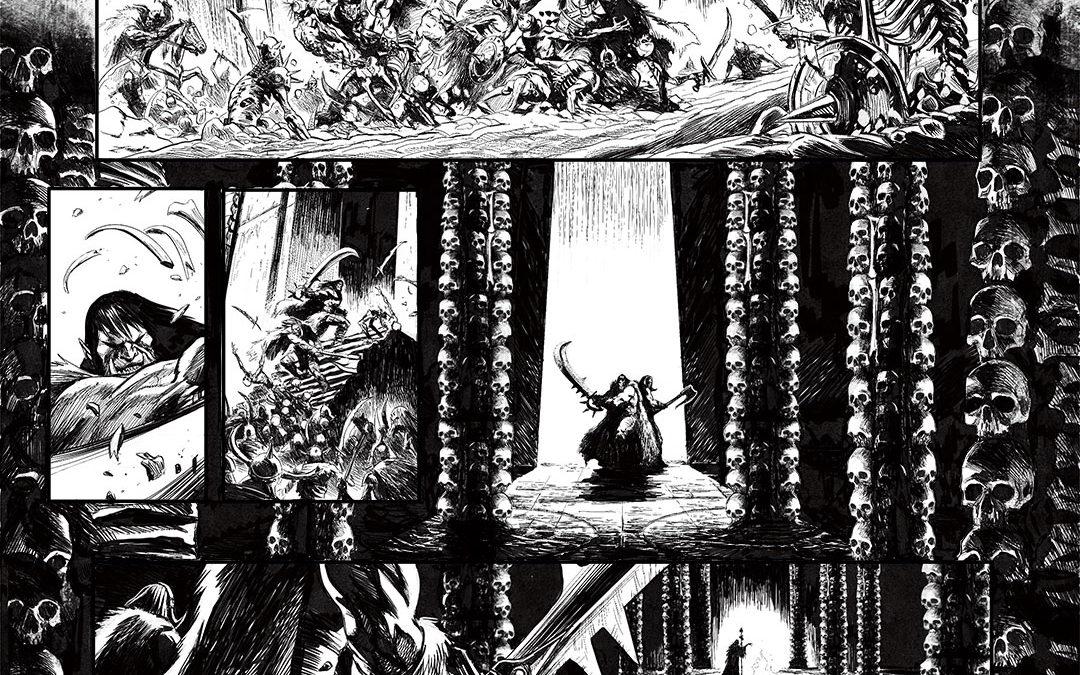 Orcs et Gobelins, une page…