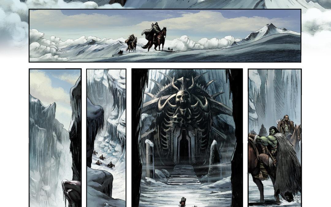 Orcs et Gobelins T11 , une page
